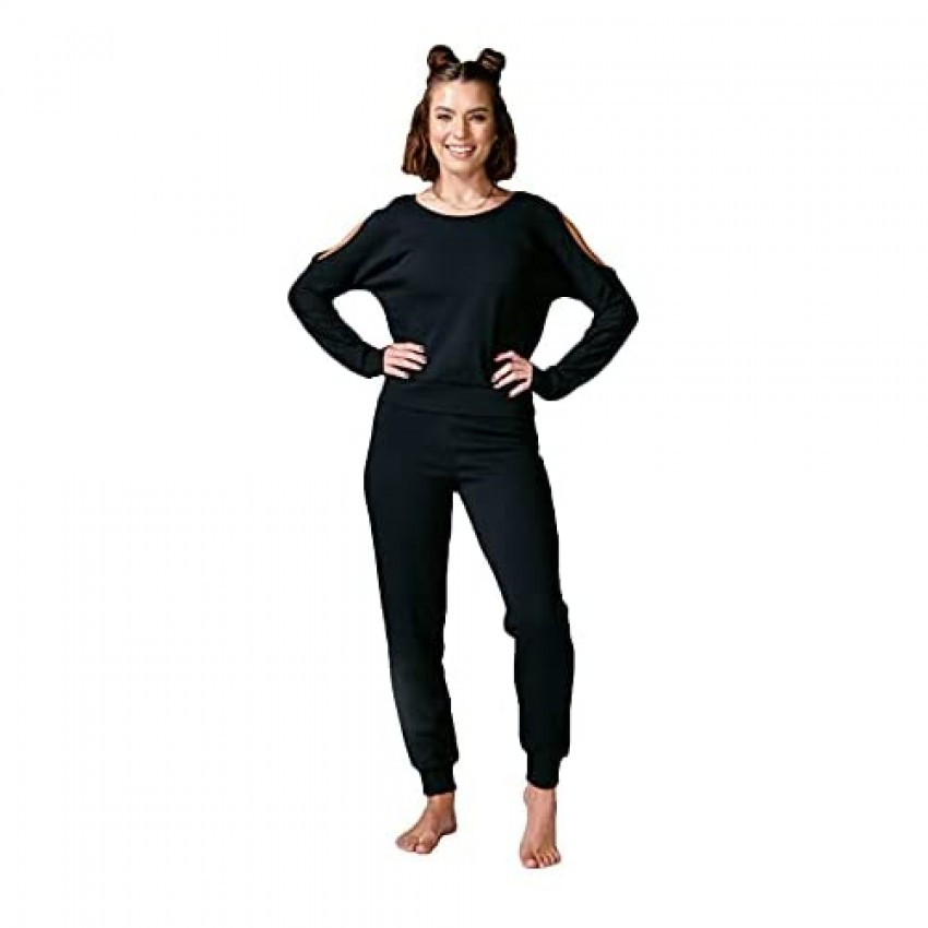 Electric Yoga Basic High Rise Leggings for Women - Double Lined for Tummy Control - Day Wear with Lightweight Shiny Fabric