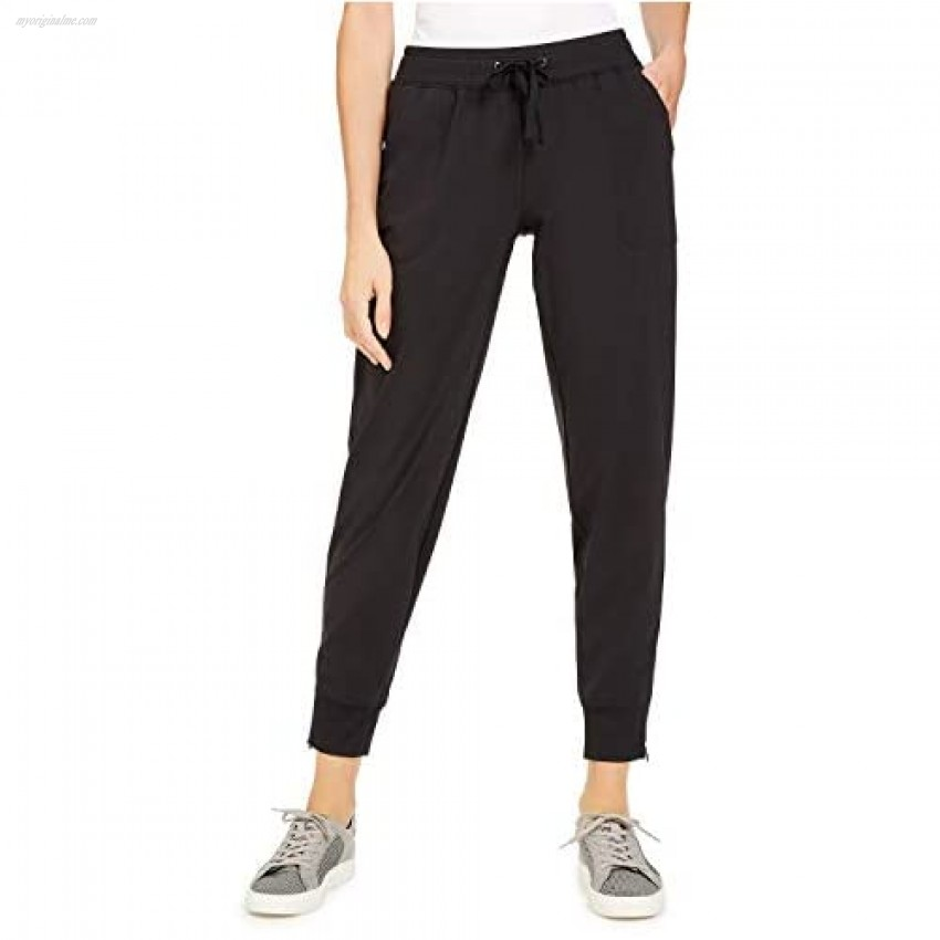 Ideology Recycled Woven Joggers Black M