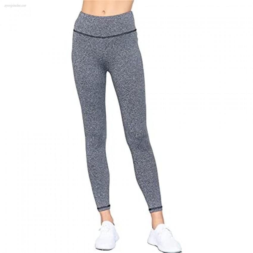 Khanomak Women`s High Waisted Legging's Workout Ankle Length Pants