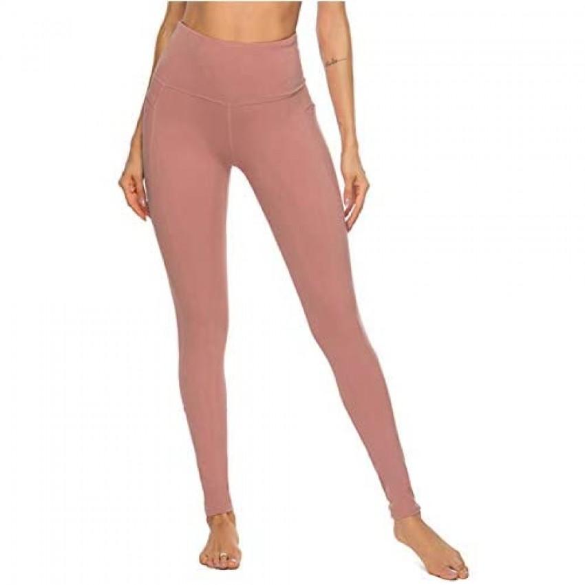 Lover-Beauty Yoga Pants for Women with Pocket High Waist Yoga Leggings Non See Through Yoga Leggings