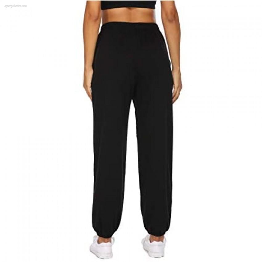 Naggoo Women's High Waisted Joggers Lightweight Sweatpants Workout Running Lounge Sport Pants with Pockets