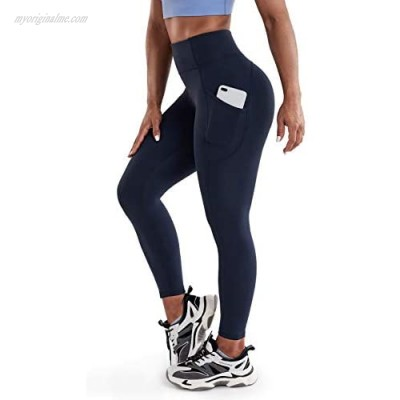 OGLWR Women's High Waisted Yoga Leggings Tummy Control Running Athletic Sports Pants with Pockets