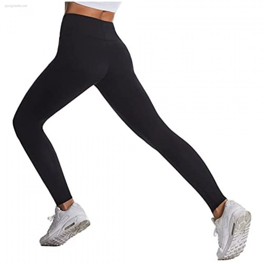 U/S High Waist Yoga Pants with Pockets Tummy Control Workout Pants for Women