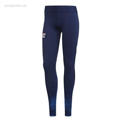 adidas Women's USA Volleyball Performance Long Tights