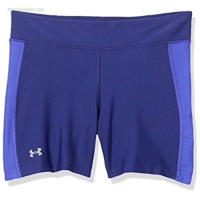 Under Armour Women's Fly-By Compression Shorty Shorts