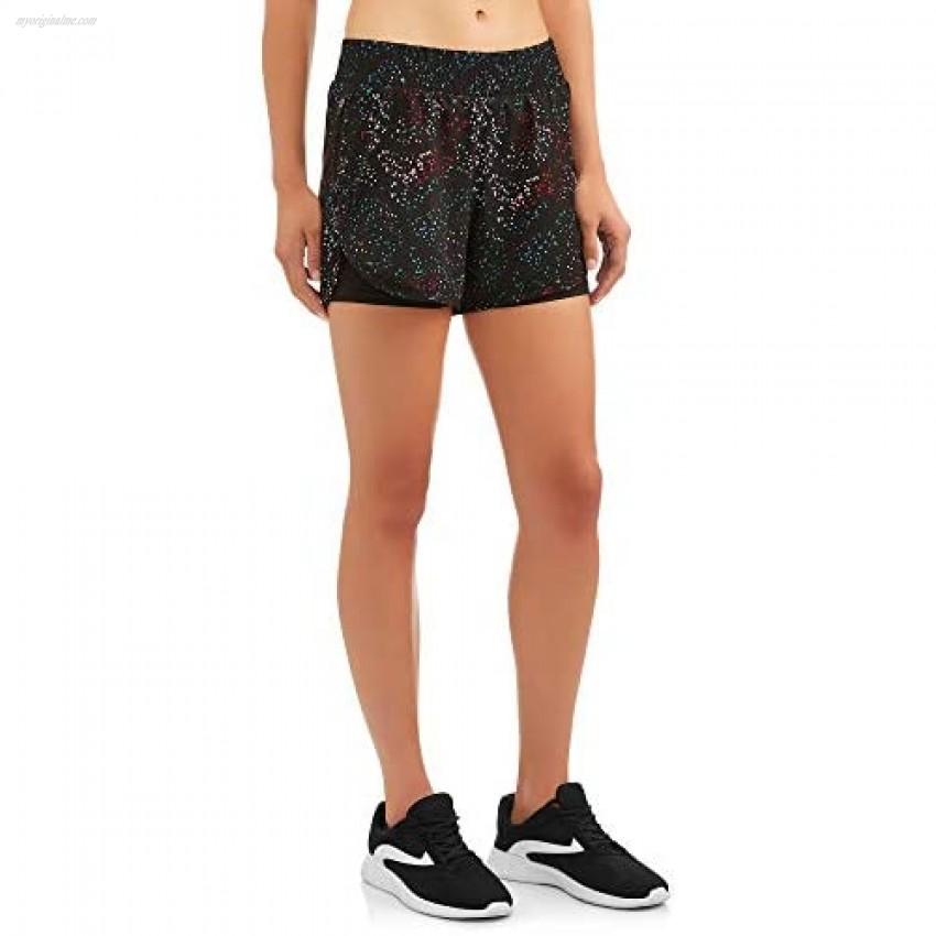 Womens Print Active Shorts
